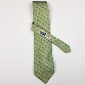 VINEYARD VINES LSU Tiger Print College Tie